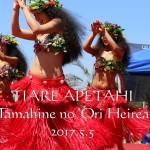 2017夢の島マリーナタヒチ&ハワイフェスティバル出演動画