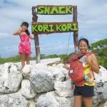 2013 TAHITI FAKARAVA島 散歩してSNACKへ