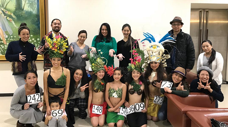 タヒチアンダンススクールTIAREAPETAHI(ティアレアペタヒ)コンペ出場2017