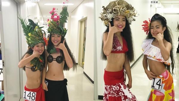 オリタヒチソロコンペティション2017 小学生ダンサー