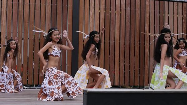 可愛いキッズダンサーの習い事は東京都八王子・相模原・立川・日野・多摩のタヒチアンダンスTim
