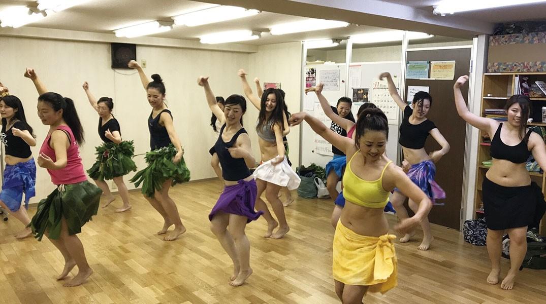 タヒチアンダンス教室ティアレアペタヒ・八王子・新宿・体験レッスン受付中