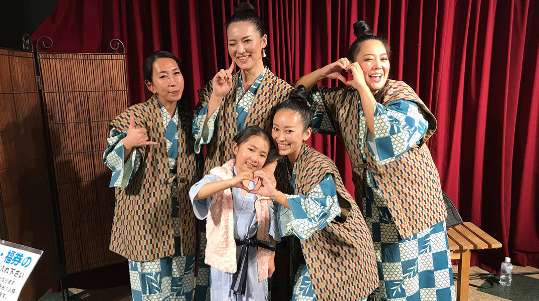 群馬県タヒチアンダンスショー余興出演