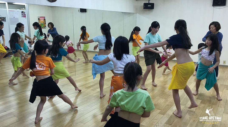 タヒチアンダンススクール キッズ小学生幼児クラス体験レッスン受付中
