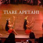 Tahitian night silkroadcafe OTEA PUEU