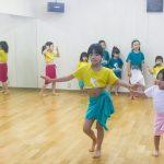 ちびっ子ダンサー頑張っています♡ タヒチアンダンスキッズクラス